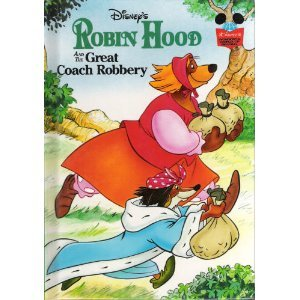 9780394825540: Robin Hood and the Great Coach Robbery. (Disney's wonderful world of reading)