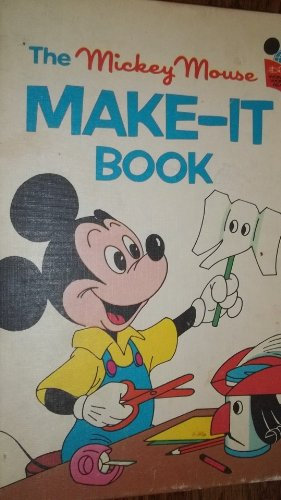 9780394825557: The Mickey Mouse Make-It Book (Disney's Wonderful World of Reading)