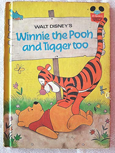 9780394825694: Walt Disneys Winnie the Pooh and Tigger Too (Disney's Wonderful World of Reading ; 35)