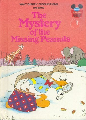 9780394825724: MYS OF MISSING PEANUTS (Disney's Wonderful World of Reading)