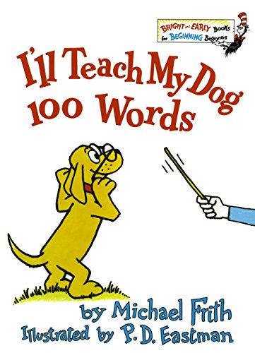 9780394826929: I'll Teach My Dog 100 Words (A Bright & Early Book)