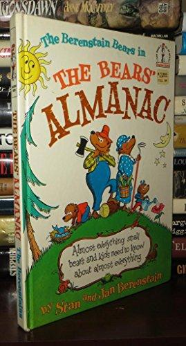 9780394826936: The Bears' Almanac: A Year in Bear Country