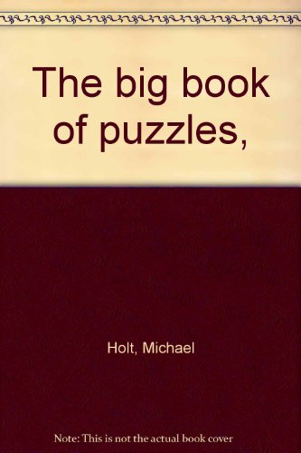 9780394828145: The big book of puzzles,