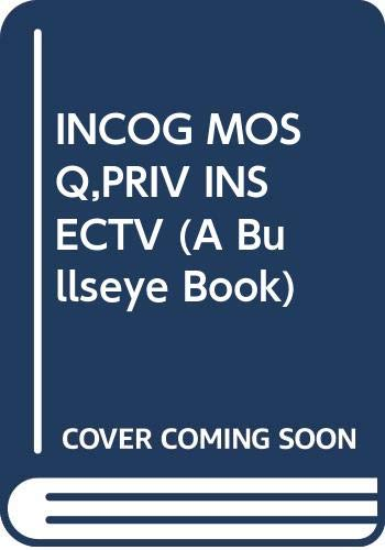 9780394828916: Incognito Mosquito : Private Insective (A Bullseye Book)