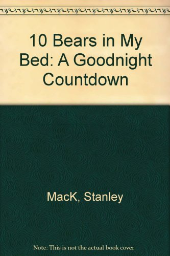9780394829029: 10 Bears in My Bed: A Goodnight Countdown