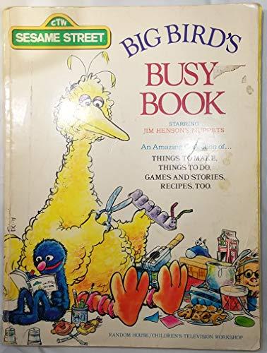 9780394829043: Big Bird's Busy Book Starring Jim Henson's Muppets