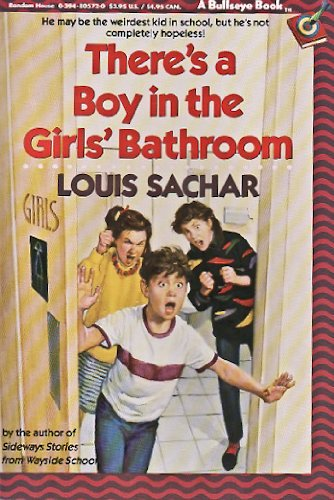 9780394829142: there's a boy in the girls' bathroom
