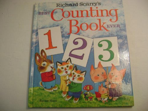 9780394829241: Richard Scarry's Best Counting Book Ever