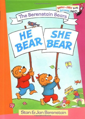 9780394829975: He Bear, She Bear (Bright & Early Book, 20)