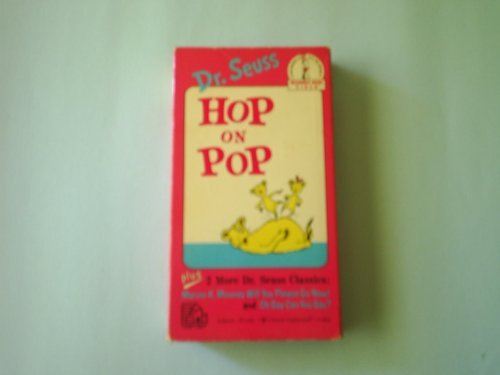 9780394830124: Dr. Seuss: Hop on Pop / Oh Say Can You Say? / Marvin K. Mooney Will You Please Go Now! [VHS]