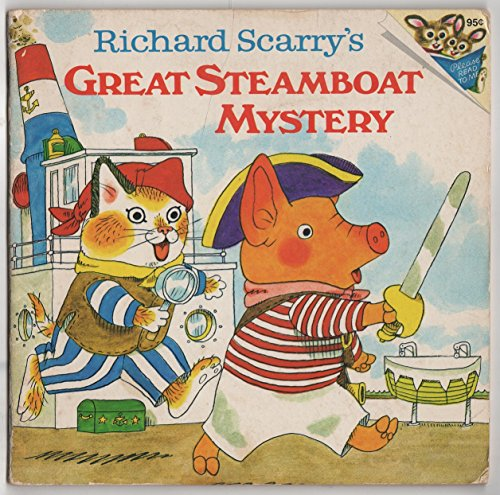 9780394831244: Richard Scarry's Great Steamboat Mystery (Random House Pictureback)