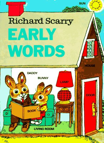 9780394832388: Richard Scarry's Early Words