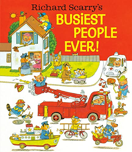 9780394832937: Richard Scarry's Busiest People Ever!