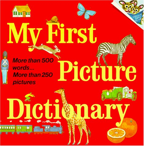 9780394834863: My First Picture Dictionary (Pictureback(R))