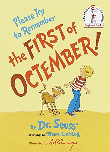 9780394835631: Please Try to Remember the First of Octember! (Beginner Books)