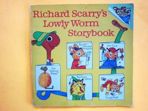9780394837062: Richard Scarry's Lowly worm storybook (A Random House pictureback)