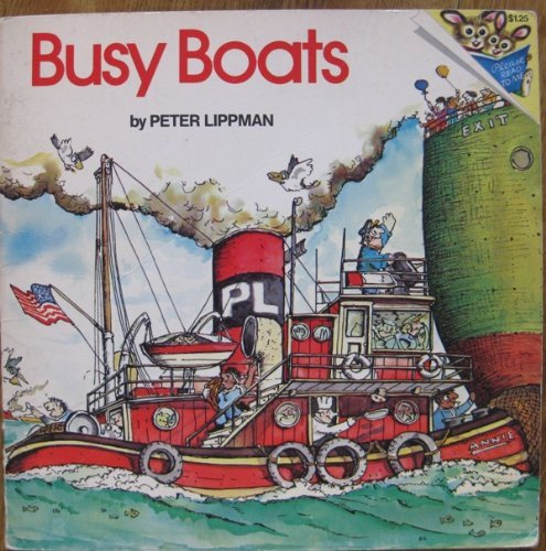 9780394837314: Busy Boats (Random House Pictureback)