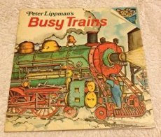 9780394837475: Peter Lippman's Busy Trains