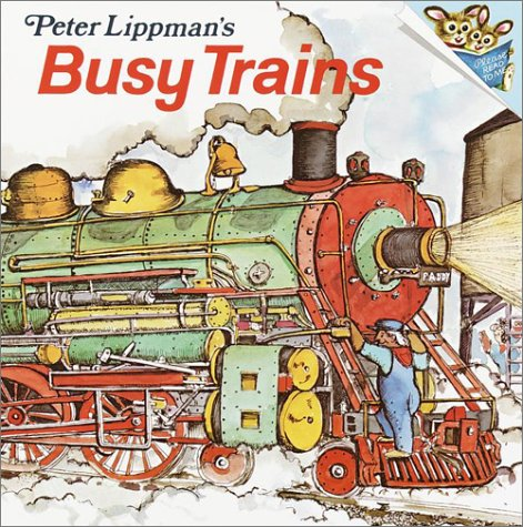Busy Trains (Pictureback(R)): Lippman, Peter