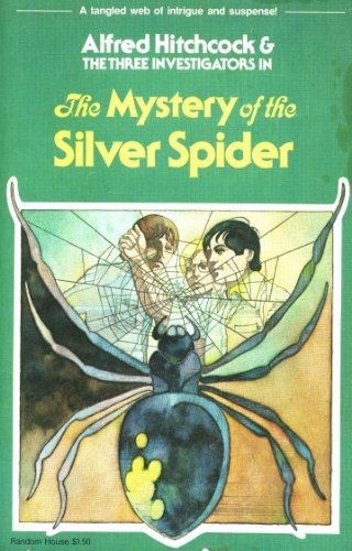 9780394837710: Alfred Hitchcock & the Three Investigators in the Mystery of the Silver Spider