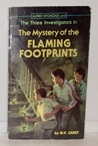 9780394837765: Alfred Hitchcock and the Three Investigators in the Mystery of the Flaming Footprints