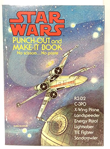 9780394837840: Star wars punch-out and make-it book: Based on the film by George Lucas