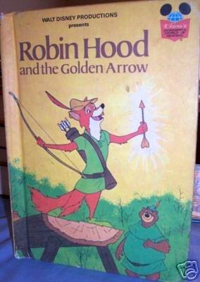 ROBIN HOOD and the golden arrow: Walt Disney
