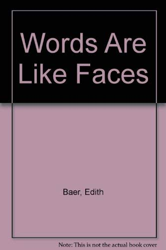 9780394840284: Words Are Like Faces