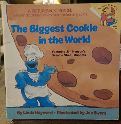 9780394840499: BIGGEST COOKIE WORLD (A Random House pictureback reader)