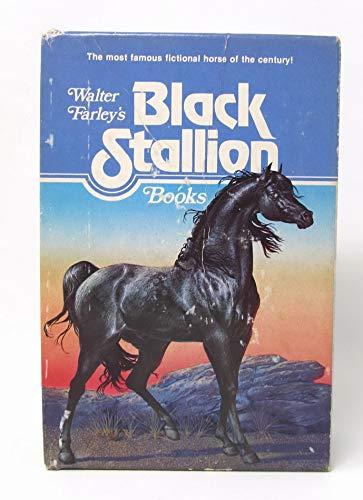 Walter Farley's Black Stallion Books (4-volume boxed set): Farley, Walter