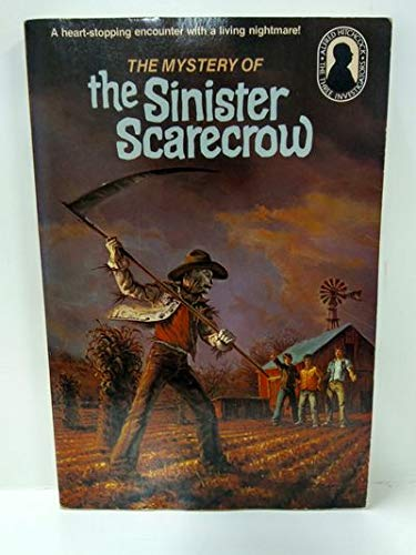 9780394841823: The Mystery of the Sinister Scarecrow (Alfred Hitchcock mystery series)