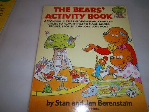 9780394842134: The Bears Activity Bk