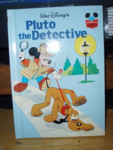 9780394843964: Pluto the Detective (Disney's Wonderful World of Reading)