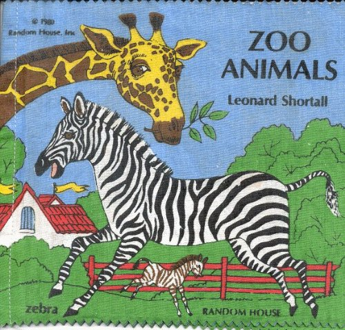 Zoo Animals(cloth Bk) (0394843983) by Leonard Shortall
