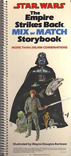 Empire Strikes Back: Mix or Match Story Book: Random House