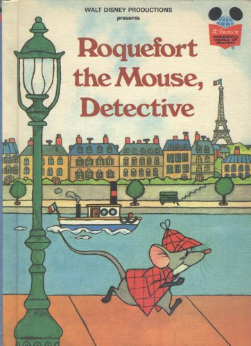 9780394845371: Walt Disney Productions presents Roquefort the Mouse, detective (Disney's wonderful world of reading)