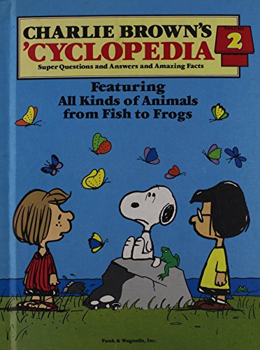 Charlie Brown's 'cyclopedia 9780394845517 Vintage book for childrens