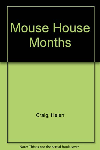 9780394845807: Mouse House Months