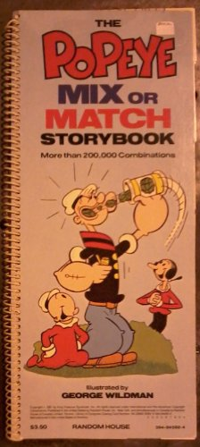Popeye Mix or Match Storybook: More Than 200,000 Combinations: Wildman, George