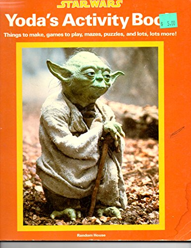 Yoda's Activity Book (0394846893) by Razzi, James