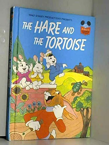 9780394848044: Walt Disney Productions presents The hare and the tortoise (Disney's wonderful world of reading)