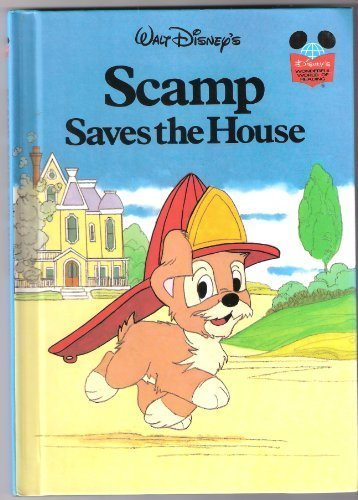 Walt Disney Productions presents Scamp saves the house (Disney's wonderful world of reading) (0394848179) by Walt Disney Productions