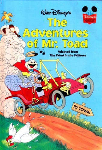 9780394848181: ADVENTURES OF MR. TOAD (Disney's wonderful world of reading)