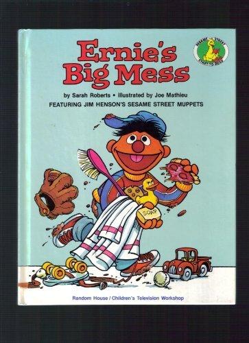 9780394848471: ERNIE'S BIG MESS (A Sesame Street Start-To-Read Book)