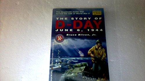 9780394848860: THE STORY OF D-DAY (Landmark books)