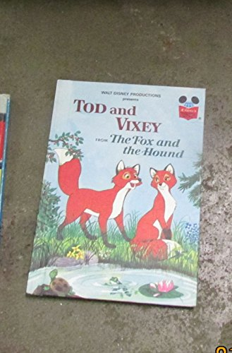 9780394849041: TOD AND VIXEY (Disney's Wonderful World of Reading)