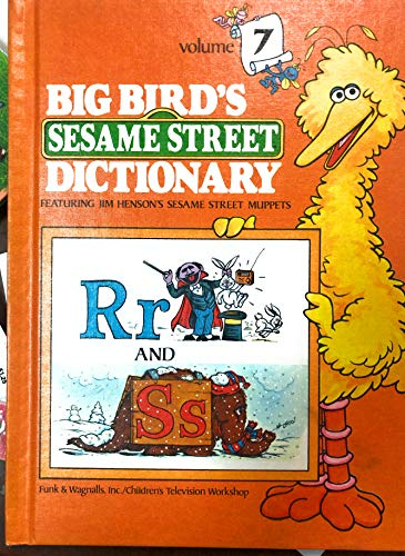 9780394849478: BIG BIRD'S SESAME STREET DICTIONARY: Volume 7