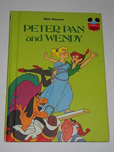 9780394849737: Walt Disney's Peter Pan and Wendy (Disney's Wonderful World of Reading)