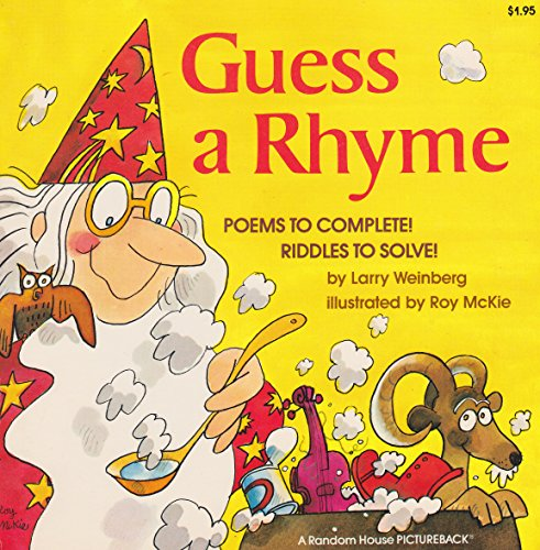 9780394850627: Guess a Rhyme: Poems to Complete! Riddles to Solve!