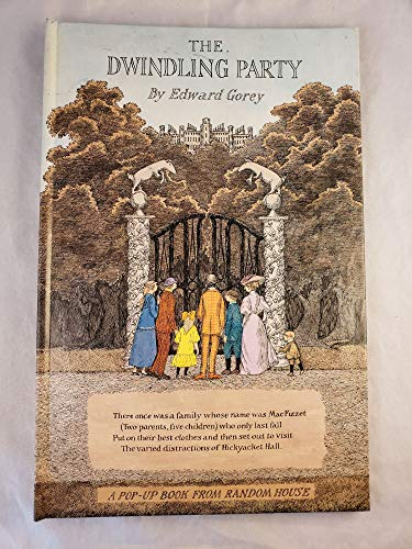 The Dwindling Party (A Pop-Up Book from Random House): Edward Gorey